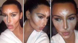 kim kardashian contour highlight 2016