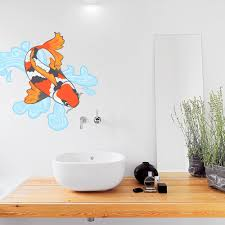 Koi Fish Wall Decal Koi Fish Wall Sticker Wallums