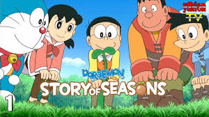 Doraemon Story of Seasons 01 - Trở Về Tuổi Thơ - YouTube