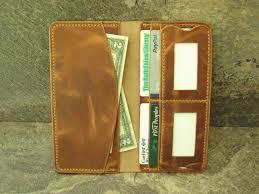 wallet genuine horween dublin leather