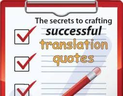 how to write compelling translation quotes