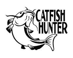 Catfish Decal Etsy