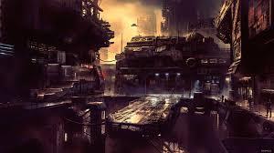 wallpaper 4k science fiction future