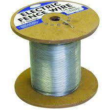 Farmgard 1 4 Mile 17 Gauge Galvanized Electric Fence Wire 317754a The Home Depot