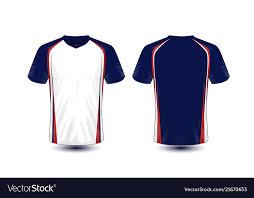 layout e sport t shirt design vector image