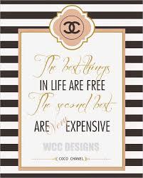 Kit De Chanel Para Imprimir Gratis Decoracion Chanel Frases De