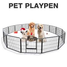 New 24 16 8 Panel Heavy Duty Dog Run Dog Play Pen Outdoor Fence Uncle Wiener S Wholesale