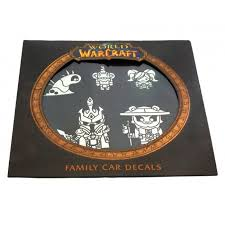 World Of Warcraft Family Car Decals Family Car Decals Car Decals Warcraft