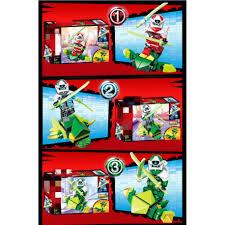 Đồ chơi lắp ráp xếp hình logo Ninjago season phần 12 minifigures Ninja  lloyd kai jay cole sư phụ wu PRCK 61039 lẻ