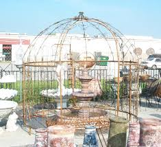 wrought iron garden patio