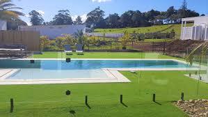 Matt Black Spigots 2 Pool Safe Glass Fencing