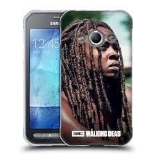 Official Amc The Walking Dead Michonne Soft Gel Case For Samsung Phones 4 Walmart Com Walmart Com