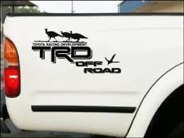 Toyota Tacoma Turkey Decal Set Of 2 Toyota Trd Stickers Custom Sticker Shop