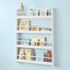 Sobuy Kmb08 W Wall Mounted 4 Tiers Children Kids Bookcase Book Shelf Storage Display Shelving Rack Aliexpress