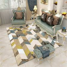 Rugs Carpets Baby Products Gbfr Nordic Carpets Rugs Living Room Bedroom Large Child Climbing Mats Kitchen Door Mat Home Decor Area Rug 200cm 300 Cm Antiskip Ink 15 60 160cm