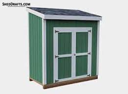 14 20 lean to shed plans 2020