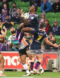 Suliasi Vunivalu of the Melbourne Storm ...