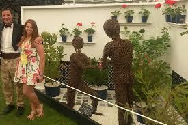 gemma nannery on breaking into garden