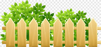 Brown Fence Illustration Cartoon Illustration Yellow Fence Grass Comics Botany Png Pngegg