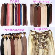 ombre hair extension remy hair dl0009