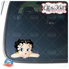 Betty Boop Car Truck Laptop Vinyl Decal Sticker Ebay