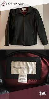worthington lambskin leather jacket