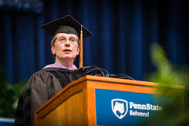 The Helping Hand': Alumna Priscilla Hamilton's spring 2017 commencement  address | Penn State University