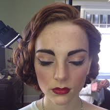 1940 s inspired hair makeup janie