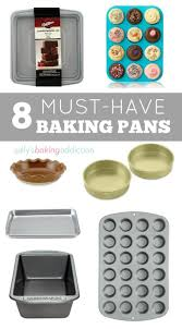 kitchen with these 8 baking pans