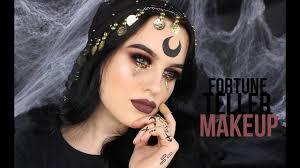 halloqueen fortune teller makeup