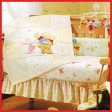 pooh friends baby crib bedding set 3pc