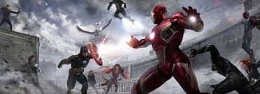 2880x1800 marvel civil war artwork