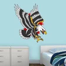Bald Eagle Wall Decal Wayfair