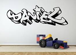 Amazon Com Wall Room Decor Art Vinyl Sticker Mural Decal Daniel Graffiti Name Poster Boy Baby Name Kids Bedroom Nursery Playroom As2735 Home Kitchen
