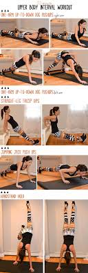 20 minute upper body interval workout