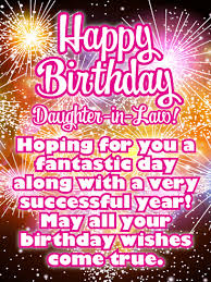 happy birthday daughter in law messages images birthday