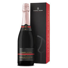 sparkling english rose and gift box