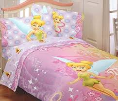 tinkerbell comforter twin sheets sets