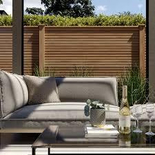 Composite Fencing Plastic Wpc Fence Panels Ecoscape