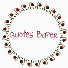 quotes baper on bahkan kita gaperlu waktu satu menit