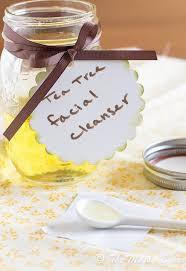 homemade tea tree oil cleanser