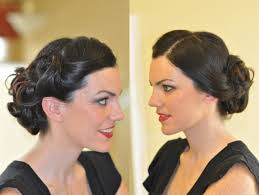 pinup bridal hair makeup with m angie