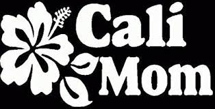 Cali Mom Vinyl Car Decal Mymonkeysticker Com