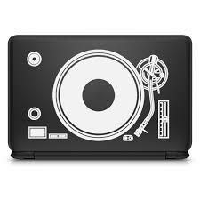 Dj Deck Mixer Laptop Sticker For Macbook Decal Pro Air Retina 11 12 13 15 Inch Vinyl Mac Surface Book Skin Notebook Decal Laptop Skins Aliexpress