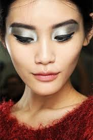 futuristic makeup looks inspired by