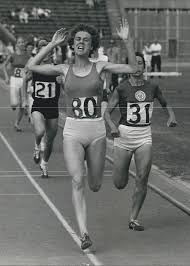 Women�s National Championships At Crystal Palace. Abby Hoffman Wins The 800  M And The Lillian Board Trophy. Photograph by Retro Images Archive