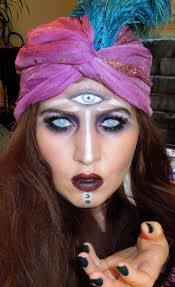 gypsy costume hair and makeup