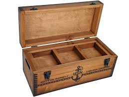navy pursuit storage box relic wood