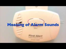 sounds of a carbon monoxide detector