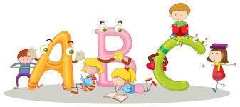 Police ABC et enfants heureux - Telecharger Vectoriel Gratuit ...
